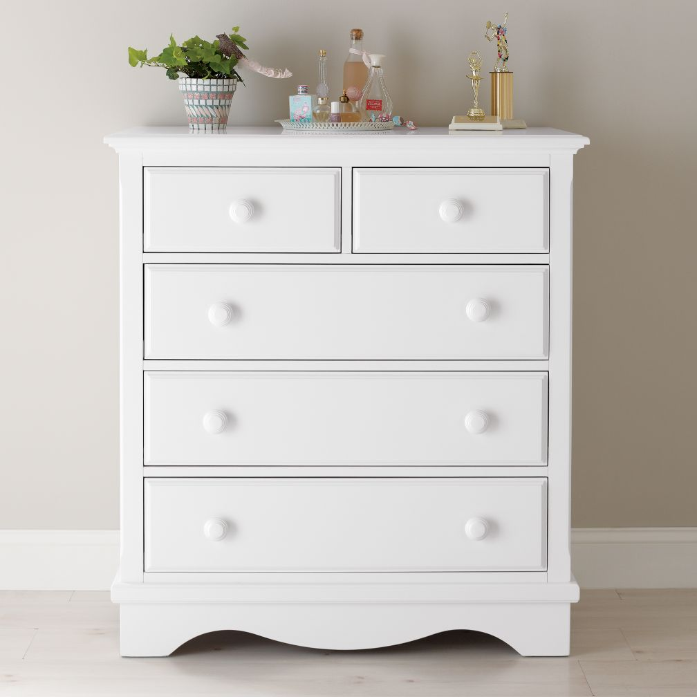Walden 2-Over-3 Dresser (White)